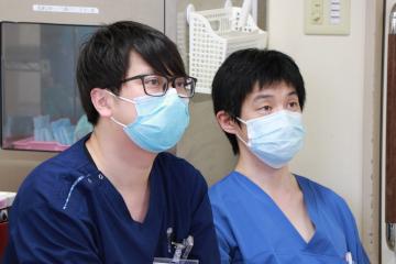 患者さまと木口先生