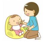 小児に飲ませる薬のイメージ