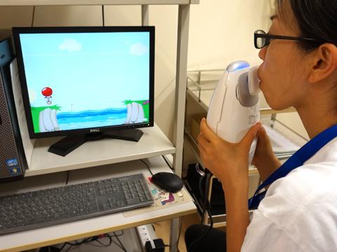 呼気NO濃度測定検査2